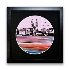 """""""Zürich Wasser Nr. 6 - 1/1"""" von Pedro Blas"""