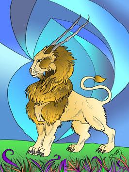 """""""König Lion"""" von Lady-al"""