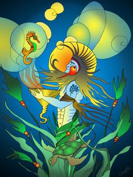 """""""Poseidon"""" von Lady-al"""