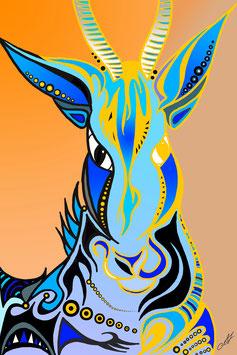 """""""Antilope"""" von Lady-al"""