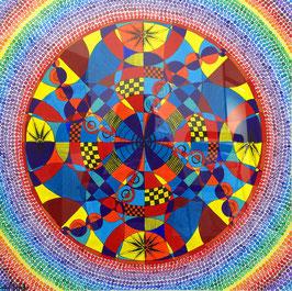 """""""männliche Mandala"""" von Alina Chorma"""