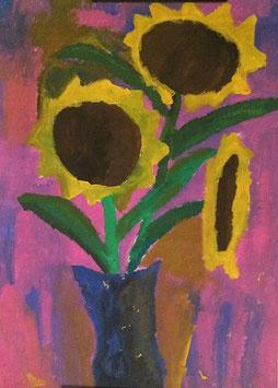 """""""Sonnenblumen"""" von Denis Batinic"""