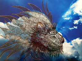 """""""Wolkenlöwe"""" von Monika Blum"""