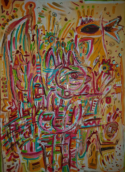 """""""Der Paradiesvogel"""" von Iris Buri"""