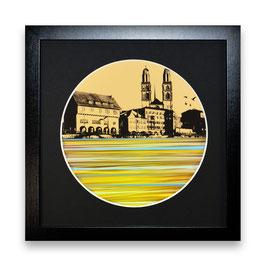 """""""Zürich Wasser Nr. 9 - 1/1"""" von Pedro Blas"""