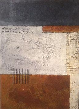 """the wall with Leonardo"" von Irene Gärtner"