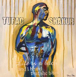 """""""Tupac Shakur"""" von Rebecca Peter"""