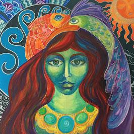 """""""Die Göttin von Wasser und Himmel"""" von Alina Chorma"""