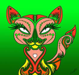 """Lady Cat"" von Lady-al"