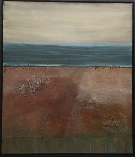 """""""the red beach"""" von Irene Gärtner"""
