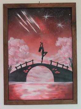 """""""Dancing on the bridge"""" von s_muth_art"""