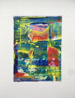 """""""The Joy Is In The Journey - Fragment 8 - mit Rahmen"""" von MICHELE LYSEK / WP11"""