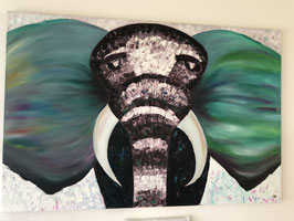 """Elephant power"" von Rebecca Peter"