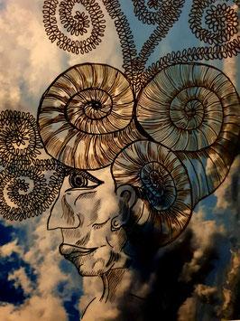 """""""Neptun"""" von Monika Blum"""