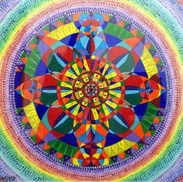 """""""weibliche Mandala"""" von Alina Chorma"""