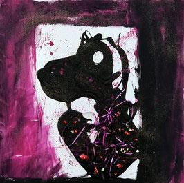 """""""The Snoopy in Black"""" von Oliver Hojas"""