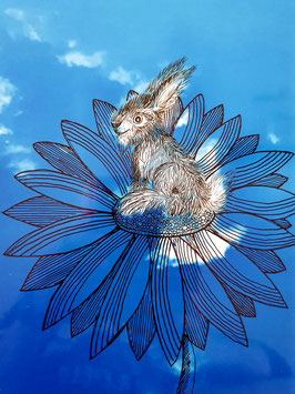 """""""Wolkenhase"""" von Monika Blum"""