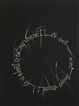 """""""Life is about"""" von Chris van Weidmann"""