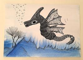 """""""Kleiner Meeresdrache"""" von Monika Blum"""