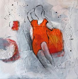 """Lady orange"" von Belinda Vaqué"