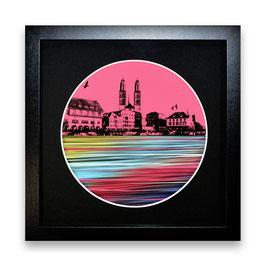 """""""Zürich Wasser Nr. 7 - 1/1"""" von Pedro Blas"""
