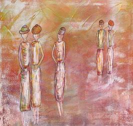 """""""Strolling women"""" von Daniela Friis"""
