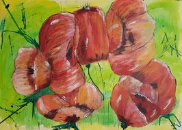 """""""Mohnblüten"""" von Atelier-Zeitpunkt"""
