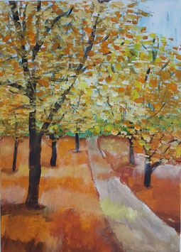 """""""Herbstwald"""" von Atelier Zeitpunkt"""