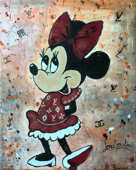 """Minnie loves brands"" von Simmenz"