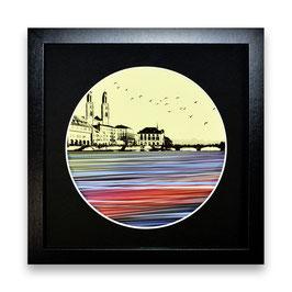 """""""Zürich Wasser Nr. 3 - 1/1"""" von Pedro Blas"""