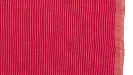 Tissu à rayures rose bonbon
