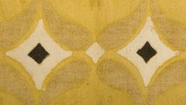 Géométrie fleurie jaune pâle