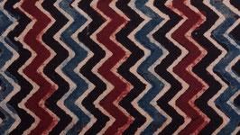 Zigzags aux trois couleurs