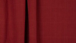 Tissu handloom rouge alizarine