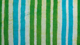 Batik vert et turquoise (2)