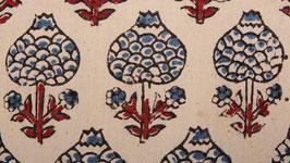 Boules de coton indigo