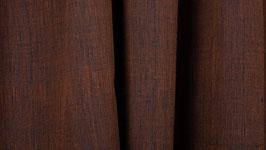 Tissu handloom brun chaud