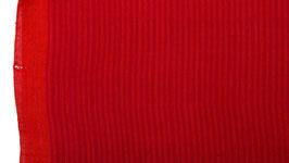 A. Tissu à rayures rouge orangé