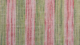 Tissu handloom aux bandes pastel (2)