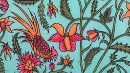 Oiseaux de paradis orangé fuchsia