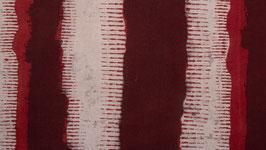 Aplats rouge brique et alizarine