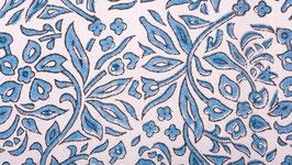 Ramées bleu clair aux traits noirs