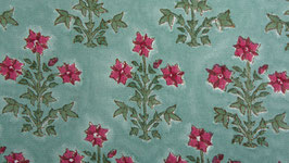 Gerbe florale vert framboise