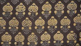 Boule de coton ocre jaune