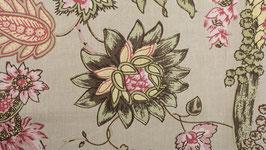 Paysage floral exotique
