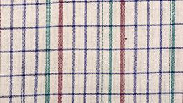 Tissu bio à petits carreaux colorés (1)