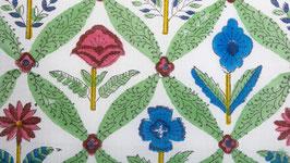 Géométrie florale verdoyante