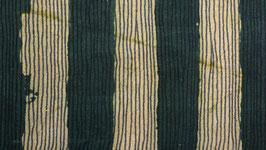 Rayures verticales vert foncé
