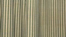 Tissu bio aux rayures jaune pâle