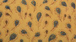 A. Plumettes fleuries indigo